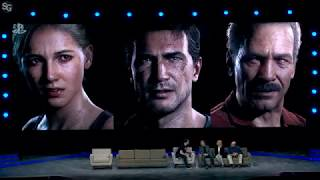 UNCHARTED 10th Anniversary Cast Interview - PSX 2017 HD