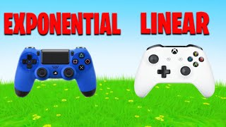 Exponential vs Linear (Best Controller Settings on XBOX/PS4/PC/Switch)