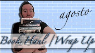 Book Haul + Wrap Up agosto | Aristotle and Dante, Leigh Bardugo, Cress...