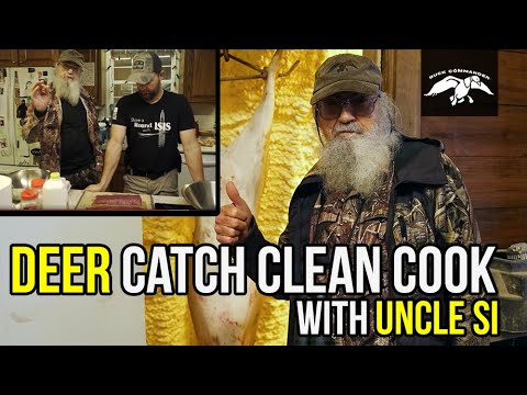 Uncle Si goes Deer Hunting | CATCH CLEAN COOK in Miss Kay's Kitchen