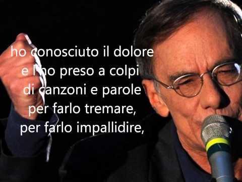 Ho conosciuto il dolore -  Roberto Vecchioni