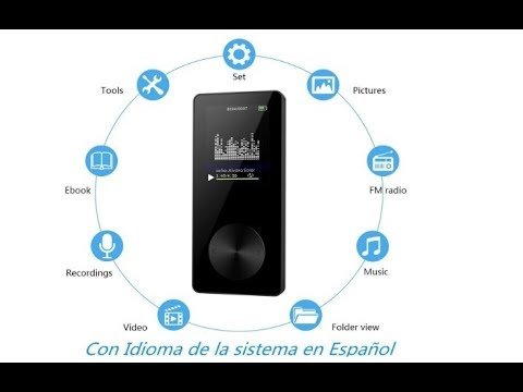 NickSea Radio MP3 FM Portátil (en amazon )