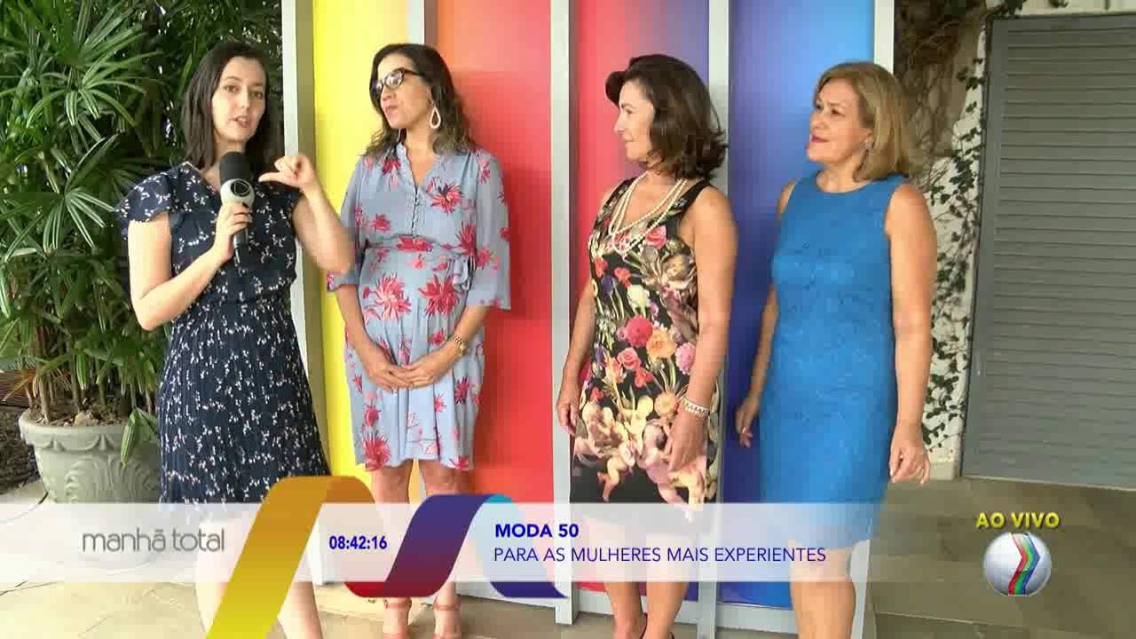 1ca0aaa589ae3 MANHÃ TOTAL - Moda para mulheres acima dos 50 anos - YouTube