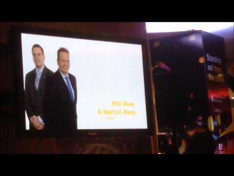 Pure Staff Ltd  John Sutton and David Whitehouse EY Finalists - Awards