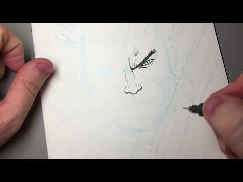 ANYONE CAN DRAW WOLVERINE!  I'll Show You!