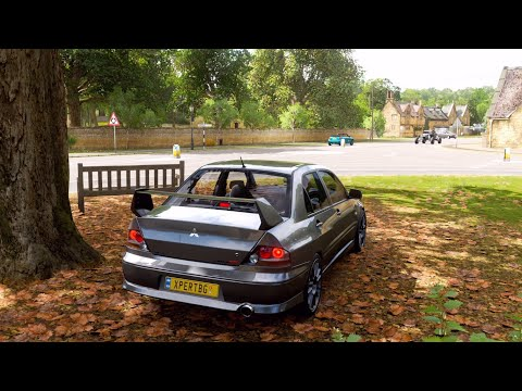 Mitsubishi Evo VIII MR - Forza Horizon 4 | (Steering Wheel + Shifter) Logitech G29 Gameplay........