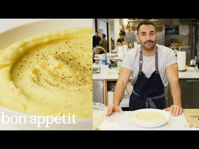 Andy Makes Ultra-Creamy Mashed Potatoes   Bon Appétit