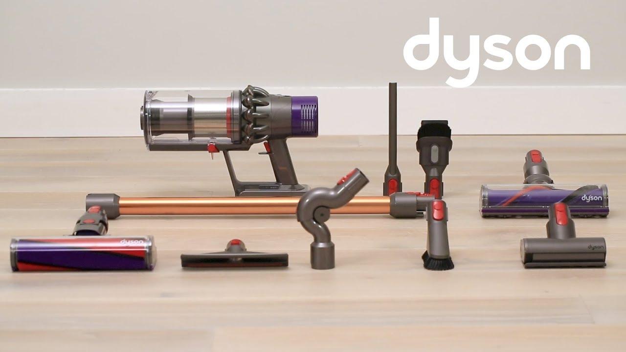 kabellose staubsauger dyson cyclone v10 erste schritte de youtube. Black Bedroom Furniture Sets. Home Design Ideas