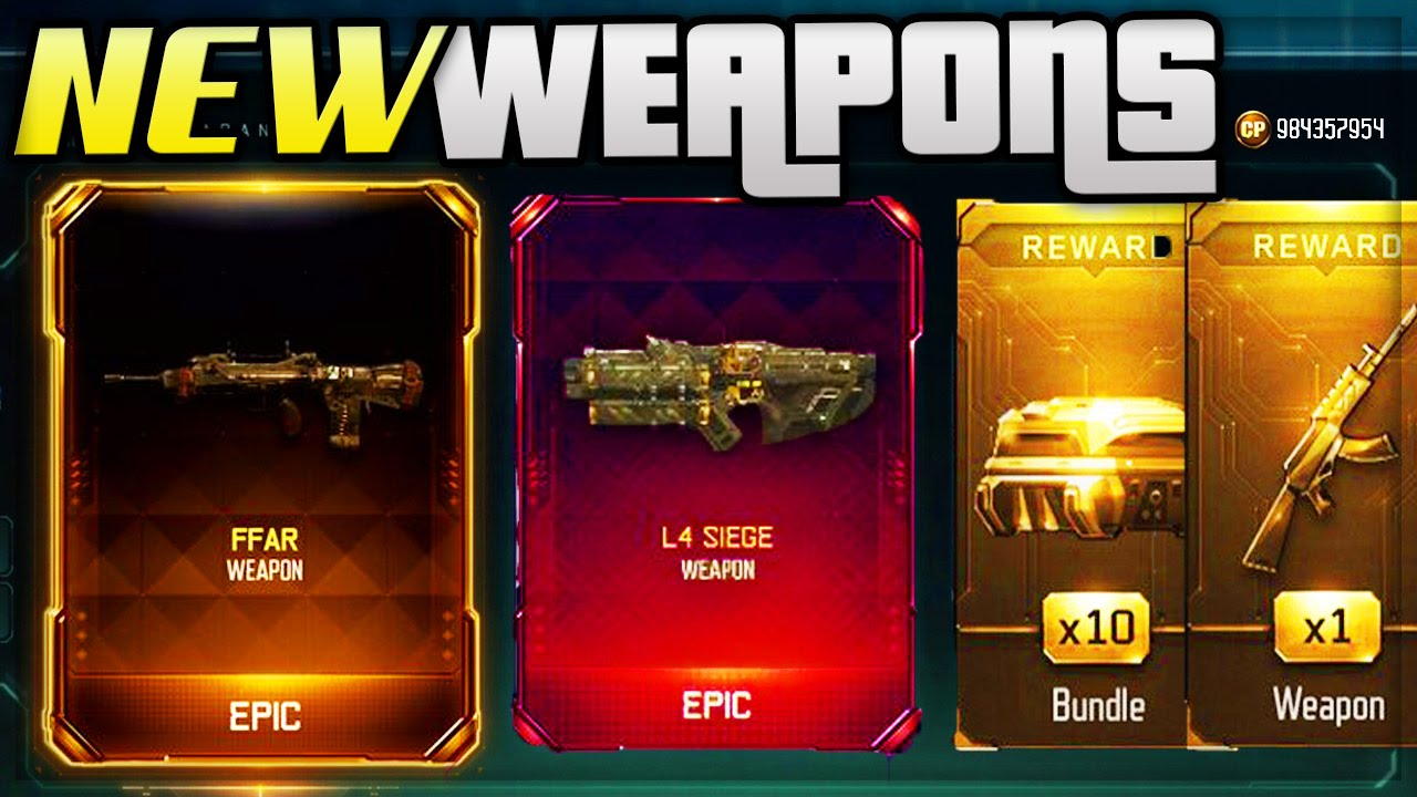 black ops 3 supply drop opening new dlc weapons cod bo3 supply