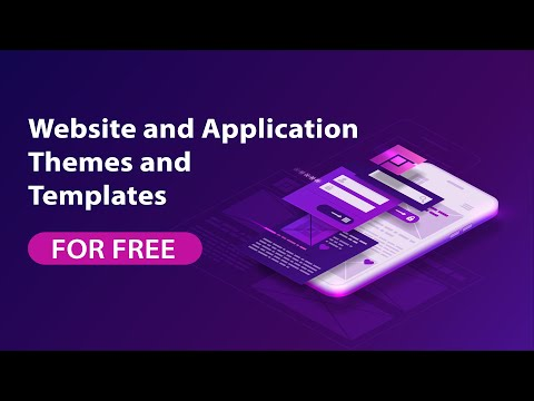 How To Get Free Website And Application Themes And Templates