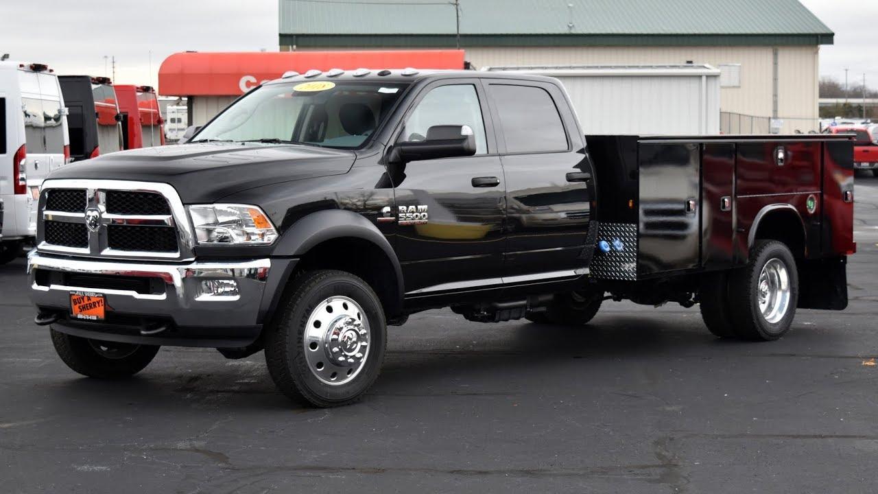 Dodge 5500 For Sale >> 2018 Ram 5500 Knapheide Service Body For Sale Dayton Troy Piqua Sidney Ohio 28085t