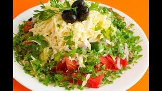 Шопский салат рецепт класический