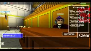 Roblox Ace Attorney Chatroom (Random Case)