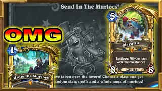 Hearthstone: Ever Class Has A Quest Shaman | This Is Broken |  Send In The Murlocs! Tavern Brawl