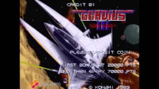 "「FC音源、VRC7」「グラディウスIII」(アーケード版)全曲集 / (2A03,VRC7) ""Gradius III"" (Arcade) - All BGMs"