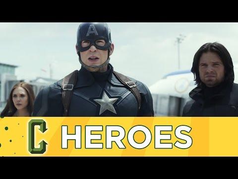 Collider Heroes - Civil War Anticipation, Batman Solo Movie with Guest Bill Sienkiewicz