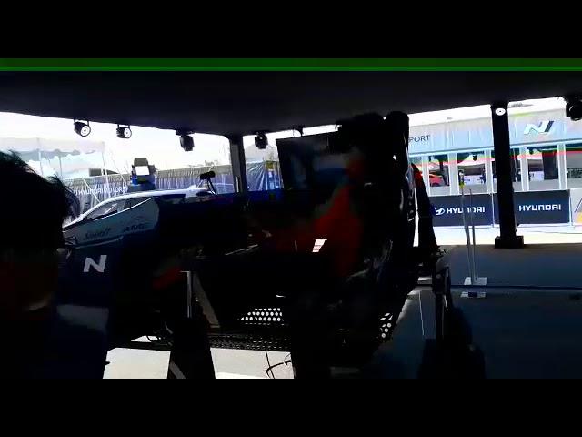 Simulador Hyundai prueba