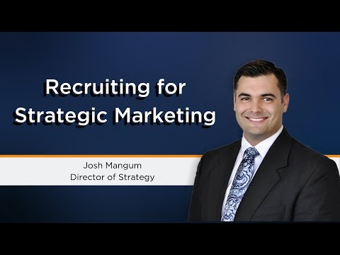Recruiting For Strategic Marketing | Best Recruitment Firms