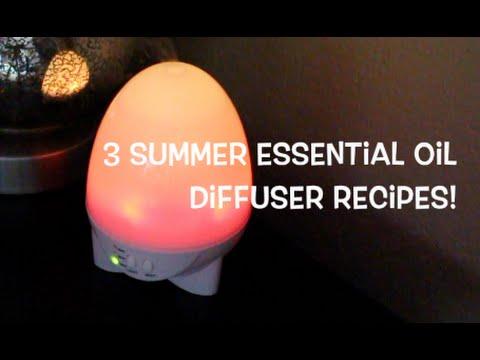 3-aroma-diffuser-summer-essential-oil-recipes!