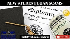 New Student Loan Scams - Navient/Nelnet/Sallie Mae/Fed Loan Servicing/Direct Loans/Paying Off