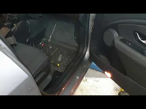 Замена мотора отопителя Renault Fluence/Megane 3