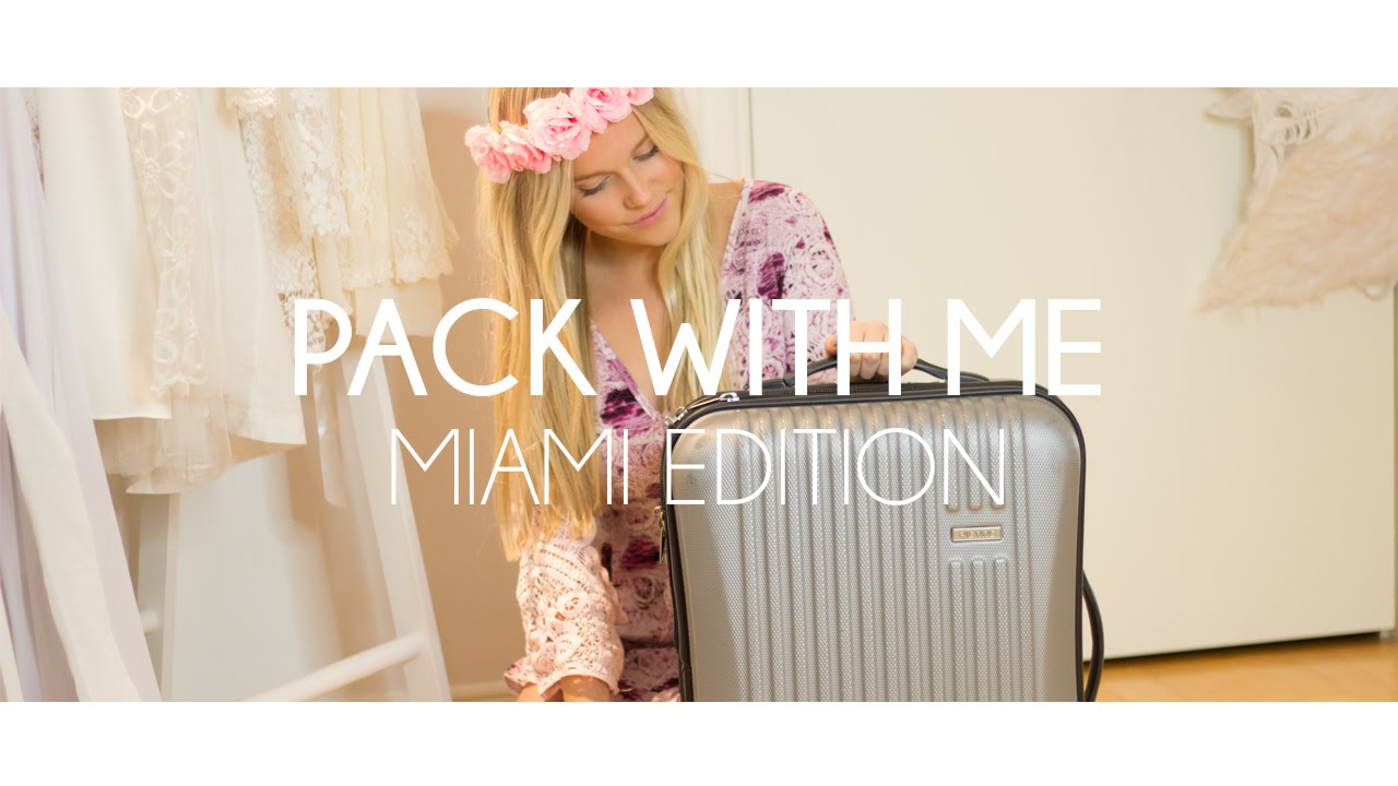cb798b0d Pack with me for Miami I What to pack for Vacation Tips + essentials