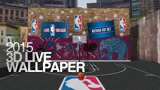 Nba 2015 Official 3d Live Wallpaper