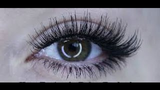 How to apply strip lashes underneath VS on top