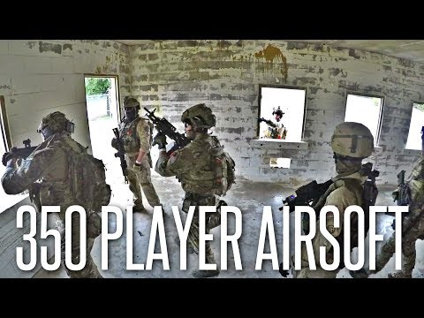 350 PLAYER AIRSOFT WAR IN MOUT FACILITY - American Milsim Reindeer Games