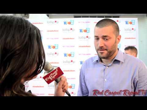 Zoran Korach at the Lollipop Theater NightUnderTheStars RIO2 at @NickelodeonTV @ZoranKorach