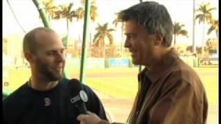 Scott Miller with Dustin Pedroia