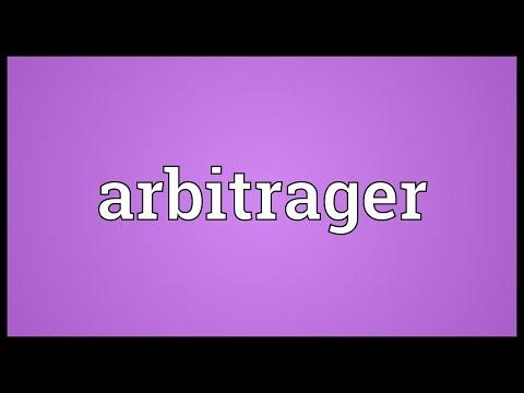 Header of arbitrager