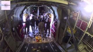 RAAF & Air National Guard C-130Js Drop Army Paratroopers