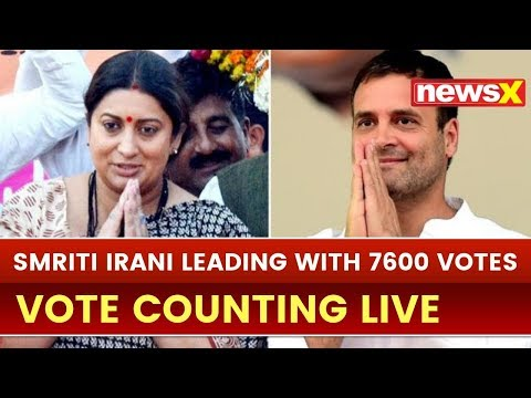 Lok Sabha Election 2019 Results Live Updates: Smriti Irani Leads in Amethi by 7,600 votes