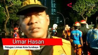 Download Video Warga Mengira Terjadi Gempa saat Jalan Raya Gubeng Ambles MP3 3GP MP4