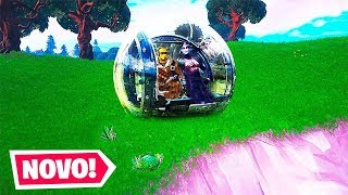 o novo veículo em Fortnite... *Bola de Hamster*