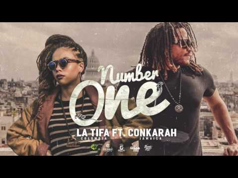 LA TIFA ft  CONKARAH - NUMBER ONE (COVER AUDIO)