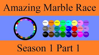 Amazing Marble Race Season 1 Part 1
