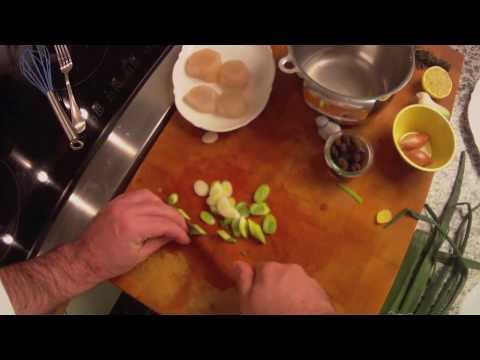 Jakobsmuschel mit Trüffel, getrüffelte Muscheln mit Chefkoch Anleitung zubereiten Teil 1
