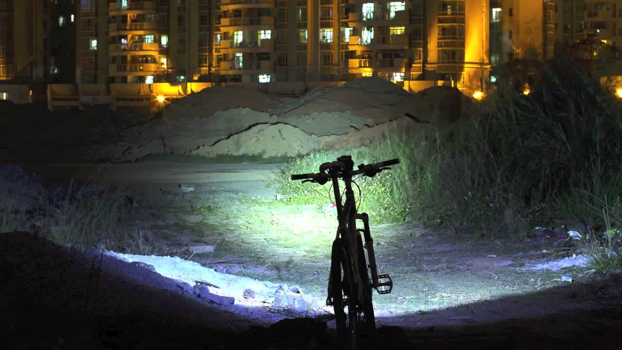 Inton 900 Lumen Bike Light Cree Xm L T6 3 7v 8ah Youtube
