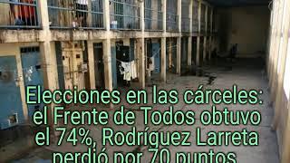 Fernández ganó en las cárceles por amplio margen