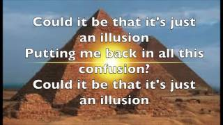 Imagination Just An Illusion LYRICS