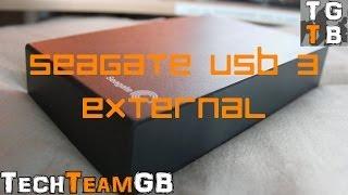 Seagate Expansion 4TB Desktop External USB 3.0 Hard Drive Review