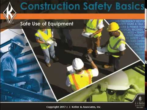 Construction Safety Basics: Safe Use of Equipment Course Preview