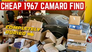 I BOUGHT A DIRT CHEAP COMPLETE 1967 CAMARO RS *Garage Find*