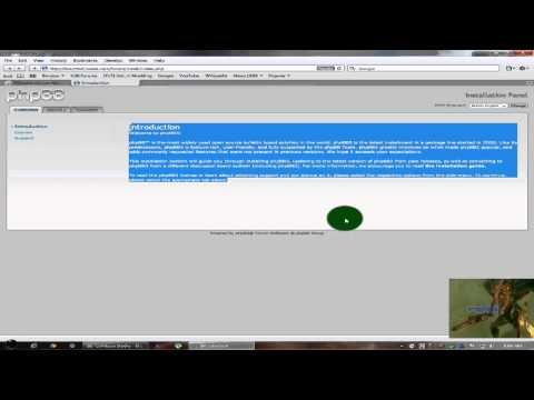 How to install phpBB