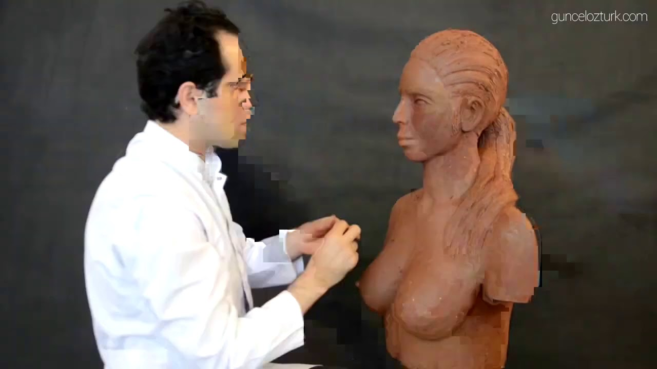 Guncel Ozturk Woman Sculpture 4x Speed