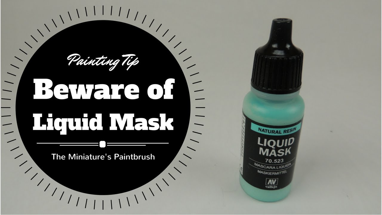 Painting Tip Liquid Mask - YouTube