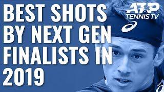 Best ATP Shots By Next Gen Finalists In 2019!