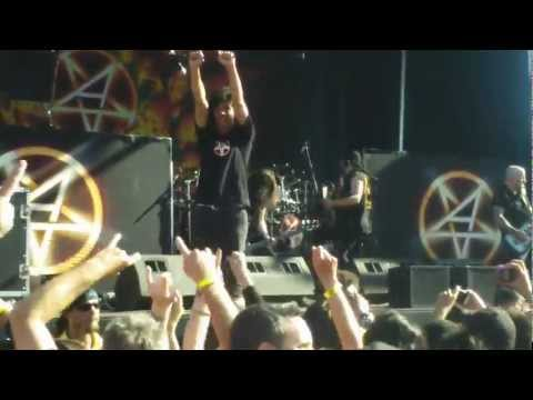 Rockstar Mayhem 7/1/12 - Anthrax - Indians @ Shoreline Mt View Q3HD